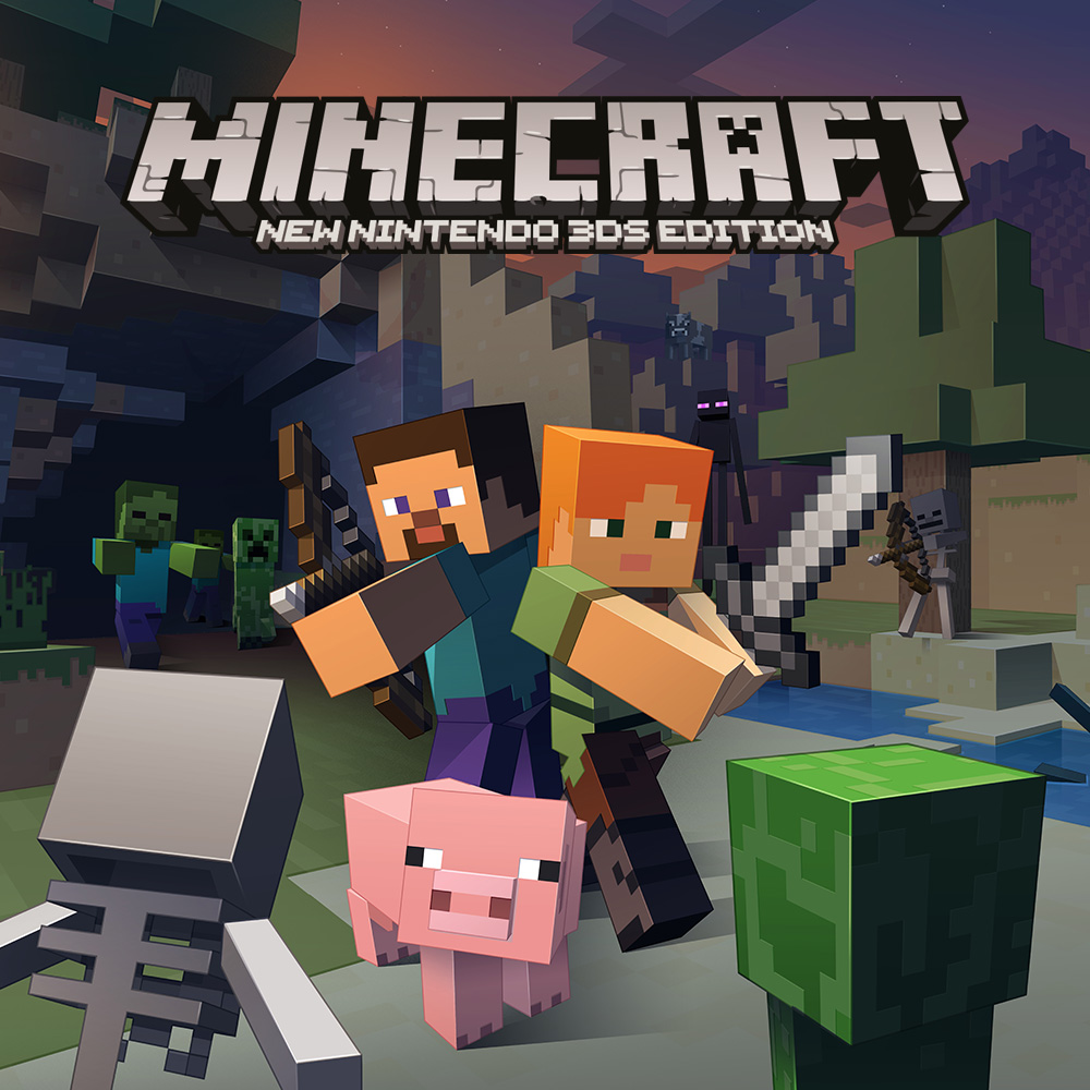 Minecraft New Nintendo DS Edition New Nintendo DS Spiele - Minecraft spielen kostenlos download deutsch
