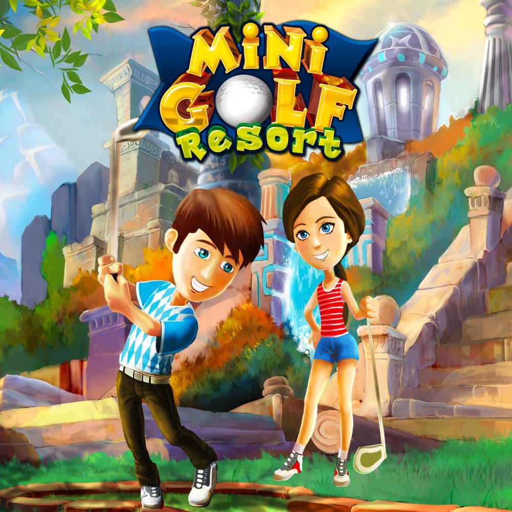 mini golf resort nintendo 3ds download software spiele. Black Bedroom Furniture Sets. Home Design Ideas