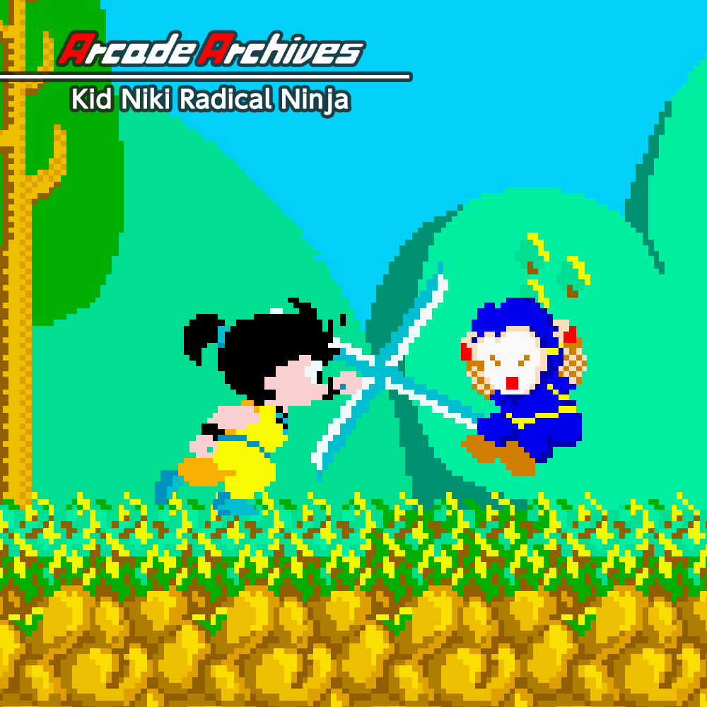 Arcade Archives Kid Niki Radical Ninja
