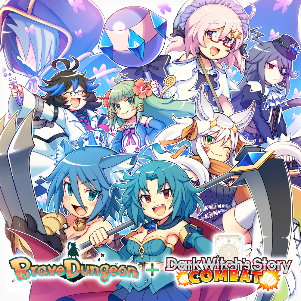 Brave Dungeon + Dark Witch's Story : COMBAT