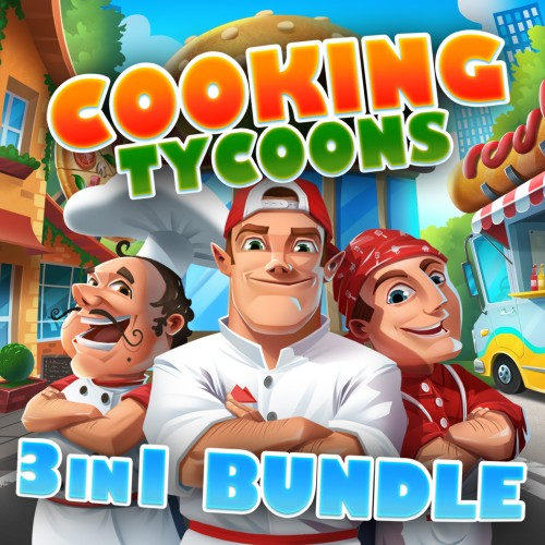Cooking Tycoons - 3 in 1 Bundle