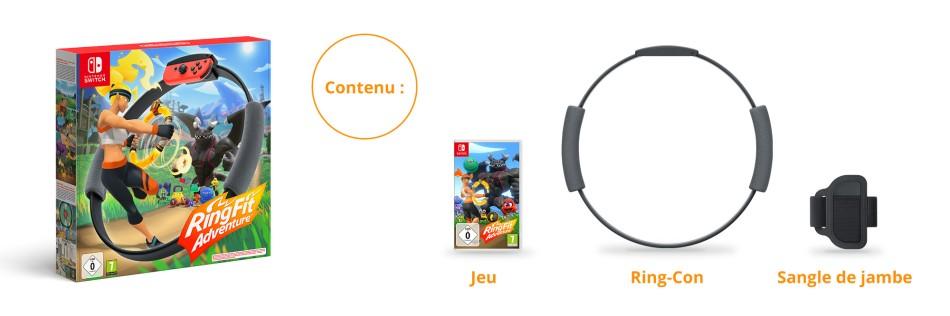 Ring Fit adventure - Nintendo switch-prix maroc