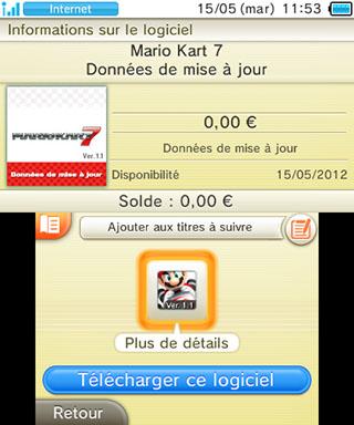 Comment telecharger jeux nintendo dsi xl gratuit - Mario kart 7 gratuit ...